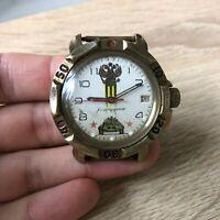 Watch Vostok Komandirskie Wostok Wristwatch USSR Rare Vintage Russia Soviet