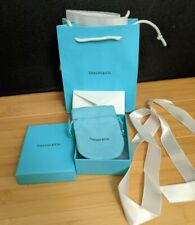 Tiffany & Co NEW Empty Blue Box Suede Pouch Gift Bag Packaging ribbon