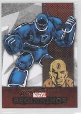 2011 Upper Deck Marvel Beginnings Series 1 164 Obadiah Stane Non-Sports Card 1g9