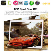 10 Inch Tablet Android 8.0 4+64GB Tablet PC with TF Card Slot and Dual Camera EU
