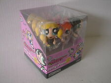 RARE POWDER PUFF GIRLS 2002 SEALED JELLY POPS CANDY DISPLAY WB CARTOON NETWORK