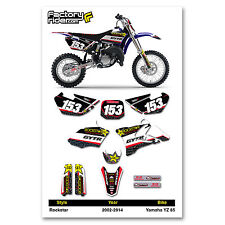 2002-2014 YAMAHA YZ 85 Graphics Kit Motocross Graphics