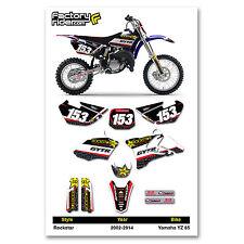 2002-2014 YAMAHA YZ 85 Graphics Kit Motocross Graphics