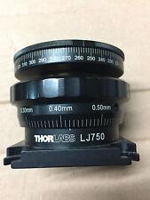 Thorlabs LJ750 Adjustable Height Rotary Platform