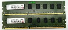 TRANSCEND 16GB 8GBx2 696778-0940 696778-0936 DDR3-1600 CL11 240 PIN Desktop