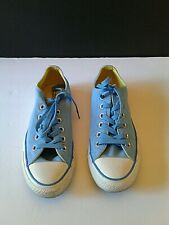 CONVERSE Classic All Stars Baby Blue Chuck Taylor Low Top Sneakers Women's sz 7