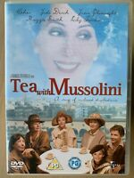 Tea with Mussolini DVD 1999 Period Costume Drama Comedy with Cher and Judi Dench