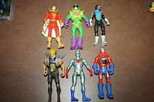 "Dc Comic Universe 3.75"" Figure Lot shazam-lex luthor"