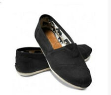 Hot Fashion Women Classics TOM Loafers Canvas Slip-On Flats shoes Size 6-10 New