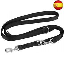 vitazoo Correa de Perro en Negro Grafito, Resistente y Ajustable en 3
