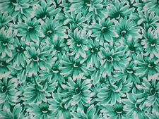 Bright Green Daisies    Bold  Green Colors  Hoffman   72 X 42    2 Yards     Z2