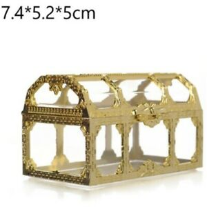 Cake Candy Box Wedding Favor 1PC Baby Shower Mini Plastic Hollow Marriage Gift