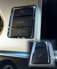 D Audi A6 4F Chrom Rahmen für Schalter Check/ Handschuhfach - Facelift