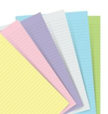 Filofax - A5 Pastel Ruled Paper refill for Notebook