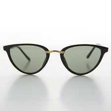 3229fbd0d4 Negras para Mujeres Ojos de Gato Gafas de Sol con Cristal Lentes - Corey