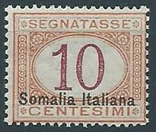 1920 SOMALIA SEGNATASSE 10 CENT MNH ** - ED216