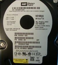Western Digital WD1600JS-60MHB1 160gb Sata Desktop Drive