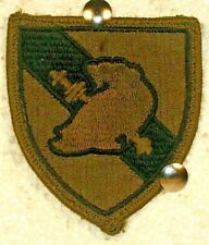 USMA US Military Academy West Point Olive Drab OD Fatigue Patch Insignia Cadre