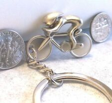 bicycle cyclist keychain cycling gift road cyclist keychain FAST USA SHIPPING