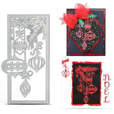 Dies Stencil Scrapbook Album Paper DIY Craft Xmas Metal Cutting Card Embossing U