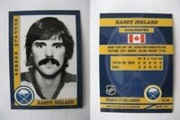 2015 SCA Randy Ireland Buffalo Sabres goalie never issued produced #d/10
