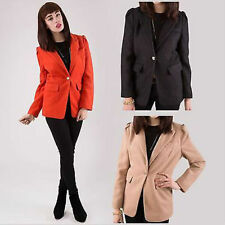 Unbranded Cotton Blend Blazer Coats & Jackets for Women