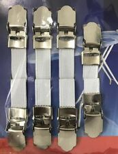 IRONING BOARD SHEET GRIPPERS 4PC STRAPS FASTENERS HOLD GRIPS ELASTIC CLIPS COVER
