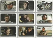 "Six Million Dollar Man - ""The Movies"" 9 Card Chase Set #M1-9"