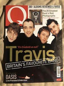 Q Magazine #161 February 2000 Travis Oasis