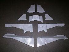 Warhammer 40k Space Marines Deathwatch Corvus Blackstar Back Wings / Fins Bits