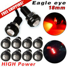 10X Red Motor Car 9W 18mm Eagle Eye Light LED DRL Daytime Running Backup Lamp