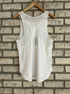 LULULEMON Women's Bike Tank Top Activewear Relaxed Slip On Off White Size 10?