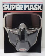 NOS Vintage Bell Super Mask for Open Face Motorcycle Helmet - AHRMA