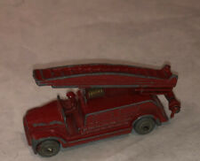 Matchbox Lesney Moko 9 Dennis Fire Engine Truck Gray Wheels Vintage