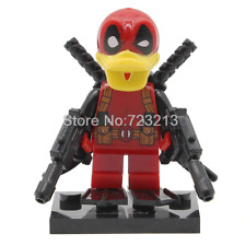 Funny Deadpool Duck - Rare LeGo Minifigure Iron man Marvel Spider Man 250297