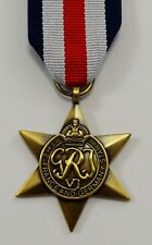British World War 2 Replica Service/Campaign Medal FRANCE AND GERMANY STAR WW2