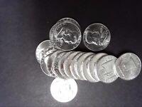 1957-D BU FRANKLIN HALF DOLLAR - SINGLE COINS