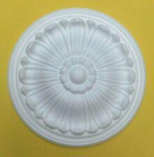 24.5 CM  Ceiling Rose Polystyrene Easy Fit Lightweight 'MARIGOLD'' Quality Rose