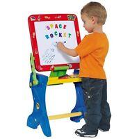 Pupitre Niño con Pizarra Tabla Magnetica Taburete Letras Magneticas  Rotuladores