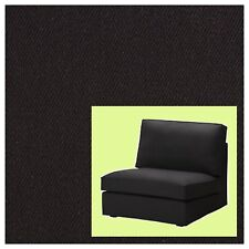 IKEA Kivik One-Seat Sofa Section RARE Chair Cover Idemo Black Denim NEW Sealed