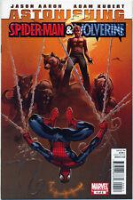 ASTONISHING SPIDER-MAN WOLVERINE #4 (MARVEL 2011) NM 1st PRINT **30% OFF FOR 6+