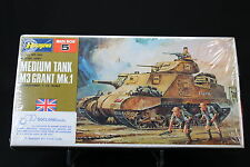 XO070 HASEGAWA 1/72 maquette tank char MB 005 250 British Army Medium Tank M3