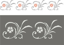 Wandschablone, Malschablone, Schablone,Malerschablone, Stencils - Friesranke 3