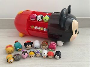 Disney Tsum Tsum - Stack 'n Display Set - Mickey Mouse Carry Case 22 Figures