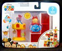 Disney Tsum Tsum Stack 'Ems Fun At The Fair Carousel Set Glitter Figure Mystery
