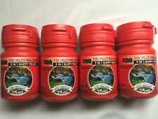 Lot of 4 Azoo 35 Ml (15 Gm) 9 in 1 Guppy Pellet