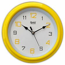 Ajanta Round Shape Wall Clock with Glass for Home Kitchen Living Room
