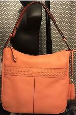 NWT Cole Haan Lacey Leather Hobo Women's Handbag Nectar Original Price $300.00