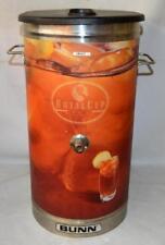 Metal Bunn Royal Cup Iced Tea Canister Dispenser Parts Or Repair Xx