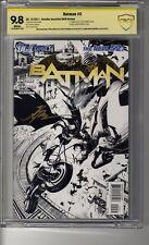 Batman (2011) # 2 1:200 Sketch RI CBCS 9.8  WHITE SS3X Capullo, Snyder & Glapion